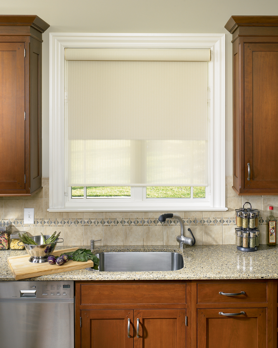 Window treatments products bradenton window coverings for Roman blinds kitchen ideas